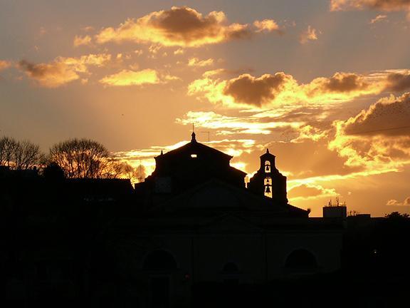 Robert Johnson Rome Sunset